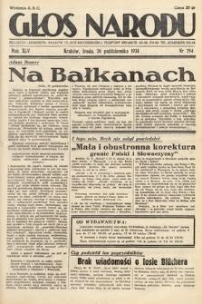 Głos Narodu. 1938, nr294