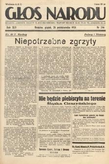 Głos Narodu. 1938, nr296