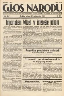 Głos Narodu. 1938, nr297