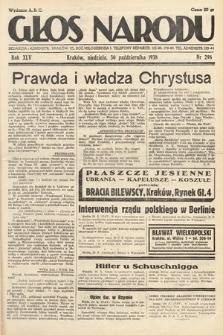 Głos Narodu. 1938, nr298