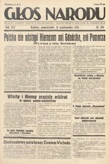 Głos Narodu. 1938, nr299