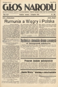 Głos Narodu. 1938, nr300