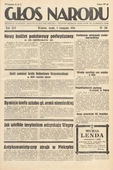 Głos Narodu. 1938, nr301