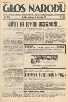 Głos Narodu. 1938, nr305