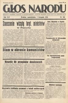 Głos Narodu. 1938, nr306