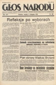 Głos Narodu. 1938, nr307