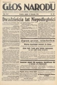 Głos Narodu. 1938, nr310