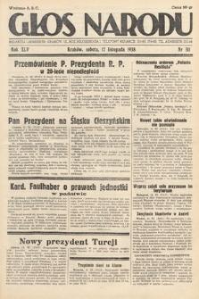 Głos Narodu. 1938, nr311
