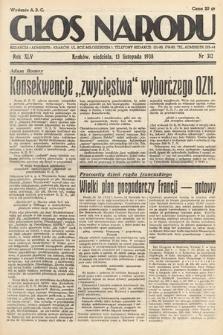 Głos Narodu. 1938, nr312