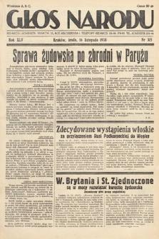 Głos Narodu. 1938, nr315