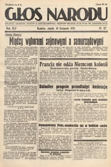 Głos Narodu. 1938, nr317