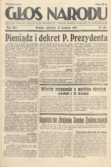 Głos Narodu. 1938, nr319