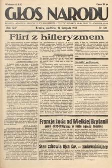 Głos Narodu. 1938, nr326