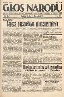 Głos Narodu. 1938, nr329