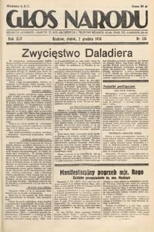 Głos Narodu. 1938, nr331