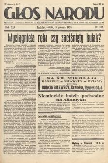 Głos Narodu. 1938, nr332