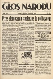 Głos Narodu. 1938, nr333
