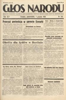 Głos Narodu. 1938, nr334