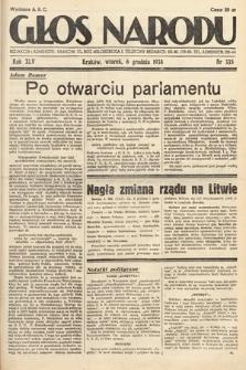 Głos Narodu. 1938, nr335