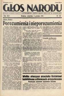 Głos Narodu. 1938, nr337