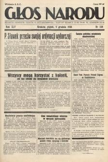 Głos Narodu. 1938, nr338