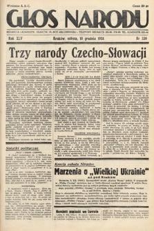 Głos Narodu. 1938, nr339