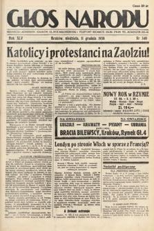 Głos Narodu. 1938, nr340