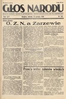 Głos Narodu. 1938, nr342