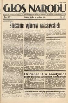 Głos Narodu. 1938, nr343