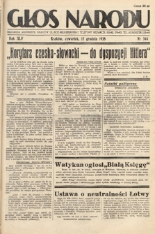 Głos Narodu. 1938, nr344