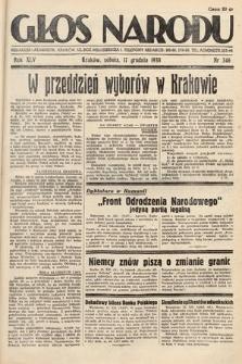 Głos Narodu. 1938, nr346