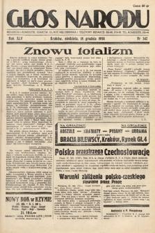 Głos Narodu. 1938, nr347