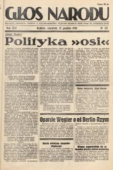 Głos Narodu. 1938, nr351