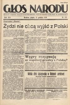 Głos Narodu. 1938, nr352
