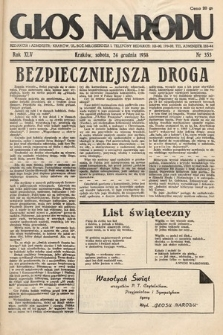 Głos Narodu. 1938, nr353