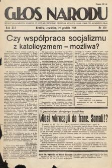 Głos Narodu. 1938, nr356