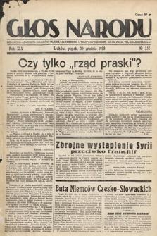 Głos Narodu. 1938, nr357