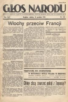 Głos Narodu. 1938, nr358