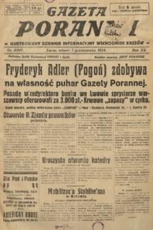 Gazeta Poranna : ilustrowany dziennik informacyjny wschodnich kresów. 1929, nr8997