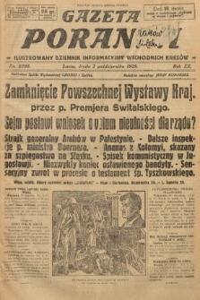 Gazeta Poranna : ilustrowany dziennik informacyjny wschodnich kresów. 1929, nr8998