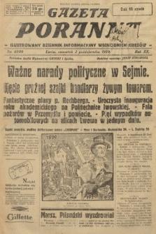 Gazeta Poranna : ilustrowany dziennik informacyjny wschodnich kresów. 1929, nr8999