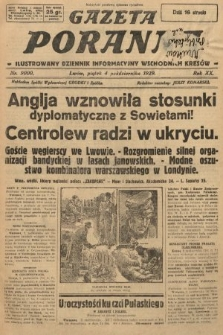 Gazeta Poranna : ilustrowany dziennik informacyjny wschodnich kresów. 1929, nr9000