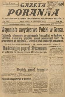 Gazeta Poranna : ilustrowany dziennik informacyjny wschodnich kresów. 1929, nr9004