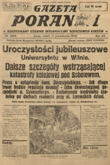 Gazeta Poranna : ilustrowany dziennik informacyjny wschodnich kresów. 1929, nr9008