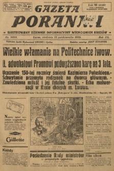 Gazeta Poranna : ilustrowany dziennik informacyjny wschodnich kresów. 1929, nr9009