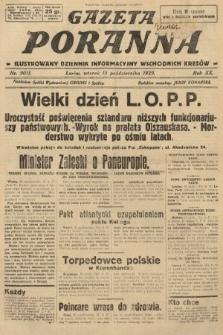 Gazeta Poranna : ilustrowany dziennik informacyjny wschodnich kresów. 1929, nr9011