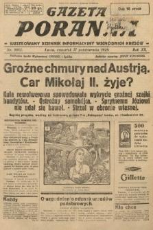 Gazeta Poranna : ilustrowany dziennik informacyjny wschodnich kresów. 1929, nr9013