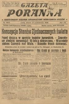 Gazeta Poranna : ilustrowany dziennik informacyjny wschodnich kresów. 1929, nr9018