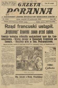 Gazeta Poranna : ilustrowany dziennik informacyjny wschodnich kresów. 1929, nr9020