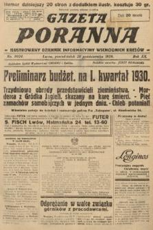 Gazeta Poranna : ilustrowany dziennik informacyjny wschodnich kresów. 1929, nr9024